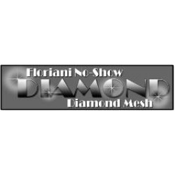 no show diamond mesh