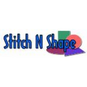 """Floriani's Stitch N Shape Double Side Fusible 15"""" SQ"""