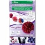 clover flower frill templates