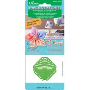 clover kanzashi flower maker point petals