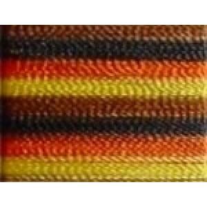 camouflage garen # oranje/geel/bruin