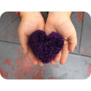 pom-pom maker heart large