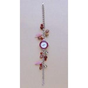 you can make it horloge kit roze/rood
